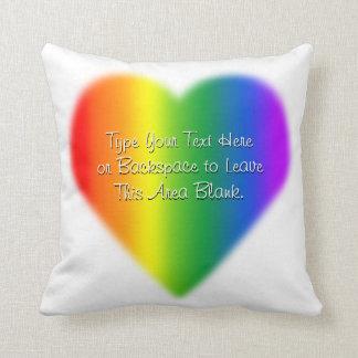 Gay pride kudder den beställnings- kudde