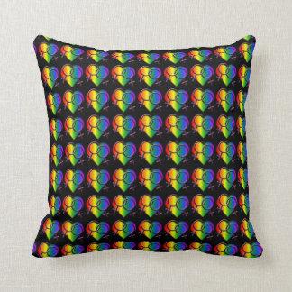 Gay pride kudder den lesbiska kärlekdekorativ kudde
