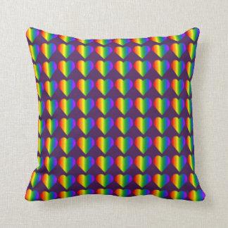 Gay pride kudder regnbågekärlekdekorativ kudde