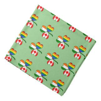 Gay prideflaggaKanada Shamrock Scarf