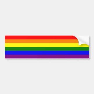 Gay prideregnbågebildekal bildekal