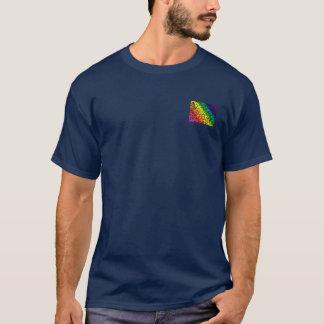 Gay prideregnbågefärger, snöreblommigt, tröja