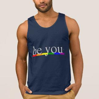 Gay prideregnbågeflagga är dig tanktop