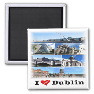 GB * Nordliga - ireland - Dublin Magnet