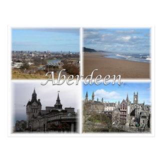 GB United Kingdom - Skottland - Aberdeen - Vykort