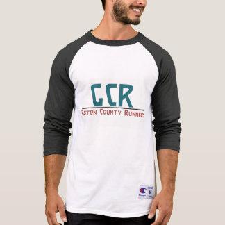 Gcr-manar 3/4 skjorta för Raglan för sleeve Tee Shirts