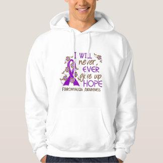 Ge aldrig upp fibromyalgiaen för hopp 4 sweatshirt
