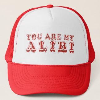 GE ALIBI ÅT hatten Keps