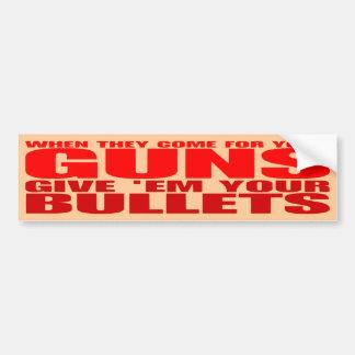 Ge dem dina kulor, när de kommer för dina vapen bildekal