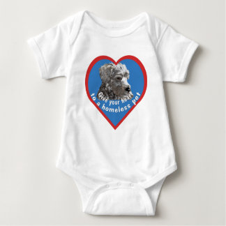 Ge din hjärta till ett hemlöst husdjur t-shirt