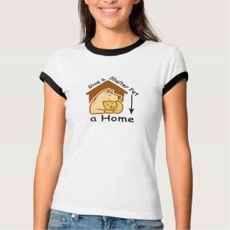 ge ett skyddhusdjur ett hem tee shirt