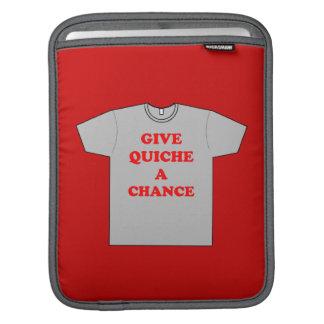 'Ge quichen en Chance iPad Sleeve