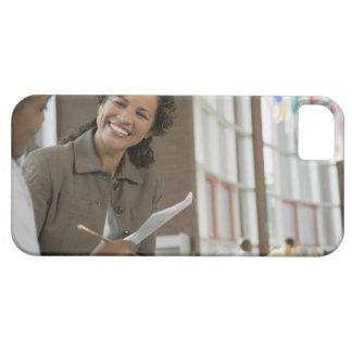 Ge skrivbordsarbete för lärare till studenten iPhone 5 hud
