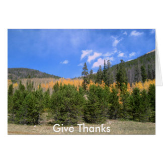 Ge tackkortet hälsningskort