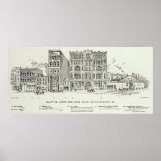 Geary södra sidolån och Stockton Poster