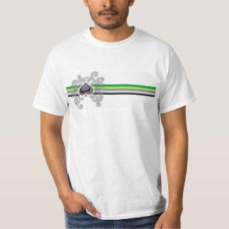 Geebots aroflagga och den topp- spadelogotypen t-shirt