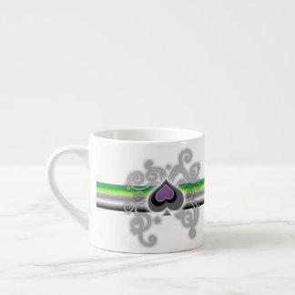 Geebots aromantic kopp för espresso för logotyp espressomugg