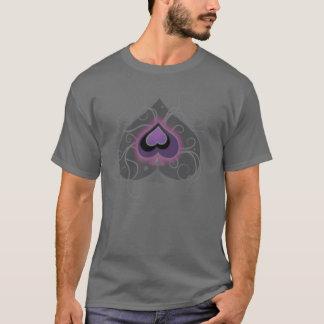 Geebots T-shirt. för mörk för logotyp för spade T-shirts