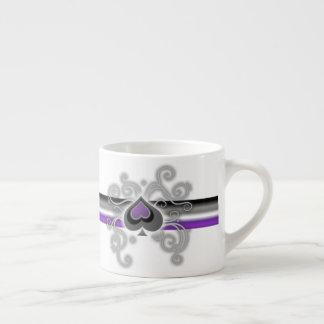 Geebots topp- kopp för espresso för vit för espressomugg