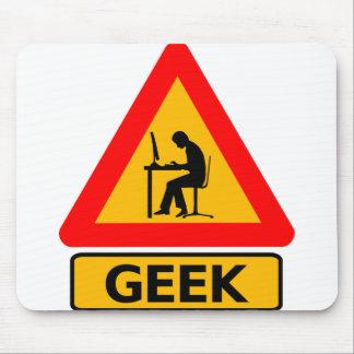 Geek på arbete (och lek) musmatta