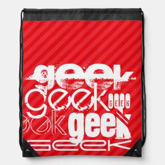 Geek; Scharlakansröda röda randar Vandringssäckar