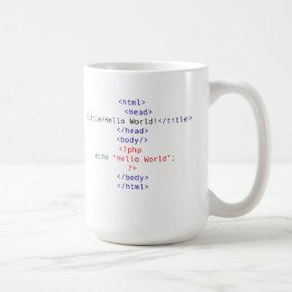 Geekphp-hälsning Kaffemugg