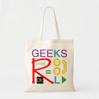 Geeks är kalla budget tygkasse
