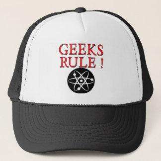 Geeks härskar!  med atomen keps