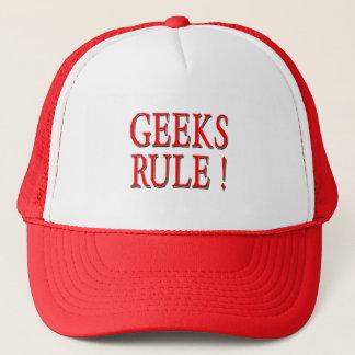 Geeks härskar!  Rött Truckerkeps
