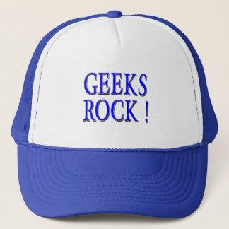 Geekssten!  Blått Keps