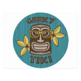 Geeky Tiki Vykort