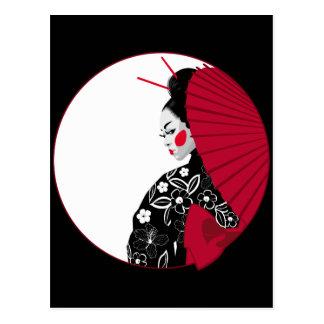 Geisha Vykort
