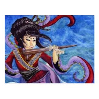 Geishas flyg vykort