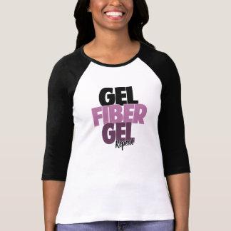 Gel fiber, Gel, repetition - fiber 3D piskar T Shirt