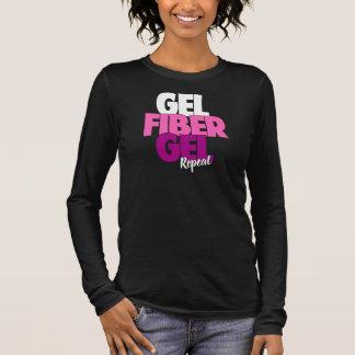 Gel fiber, Gel, repetition - fiber 3D piskar Tröja