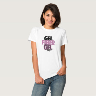 Gel fiber, Gel, repetition - fiber 3D piskar Tshirts