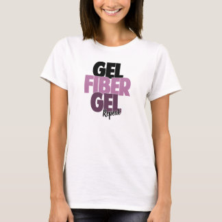 Gel fiber, Gel, repetition - fiber 3D piskar Tshirts