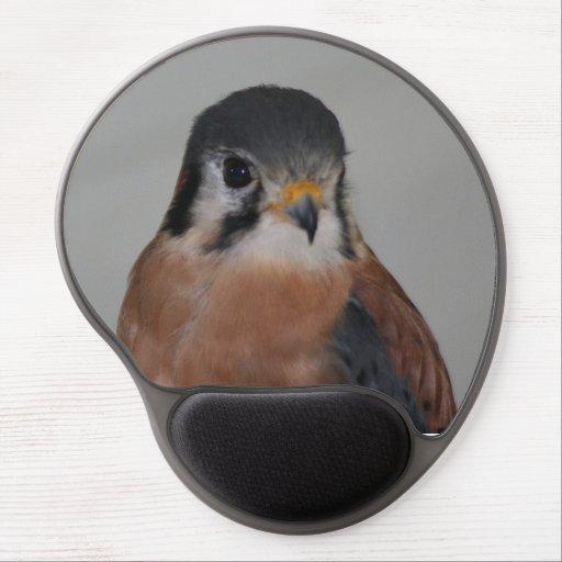 Gel Mousepad för amerikantornfalkfågel Gelé Mus-matta