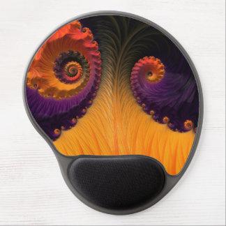 Gel Mousepad för Fractal för morgonskönhet Gelé Mus-mattor