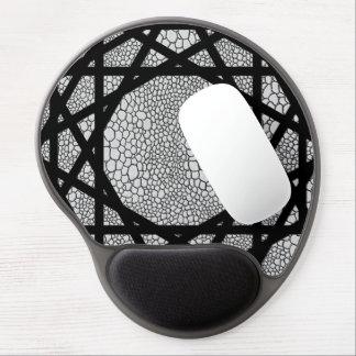 Gel Mousepad för Snakekin-/zickzackmönstermönster Gelé Musmattor