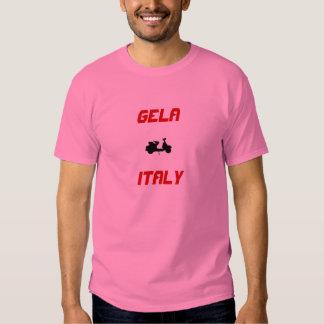 Gela italiensparkcykel tshirts