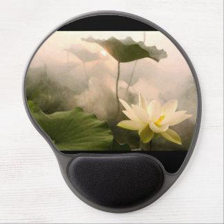 Gelen Mousepad med lotusblomma avbildar Gelé Mus-matta