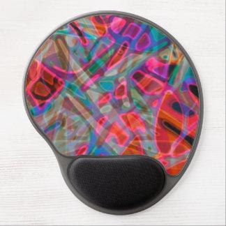 GelMousepad färgrik målat glass Gel Musmatta