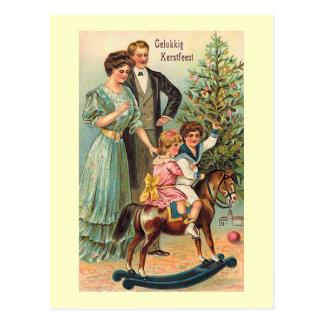 """""""Gelukkig Kerstfeest """", Vykort"""