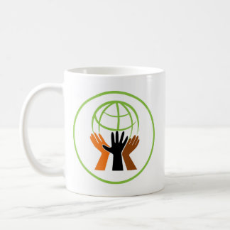 Gemenskapbyn cirklar kaffemugg