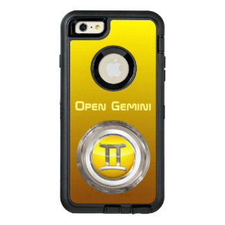 GeminiZodiac undertecknar OtterBox Defender iPhone Skal