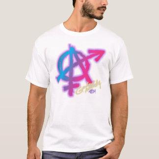 Genderanarki (bekläda trycket) - skjorta för tee shirts