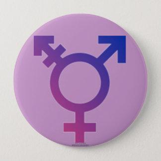 Genderjämställdhet Stor Knapp Rund 10.2 Cm