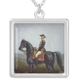 General George Ernest Boulanger Silverpläterat Halsband