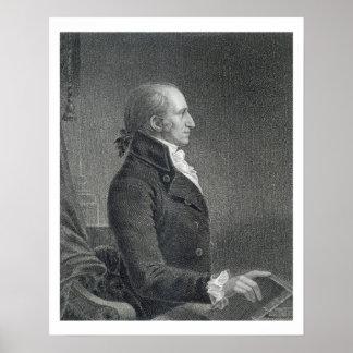 General James Jackson som inristas av William A. W Poster